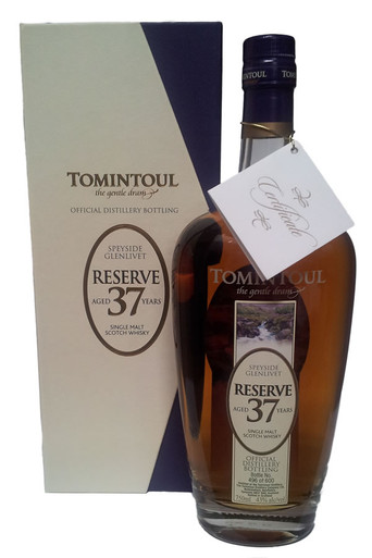 Tomintoul 37 Year Reserve