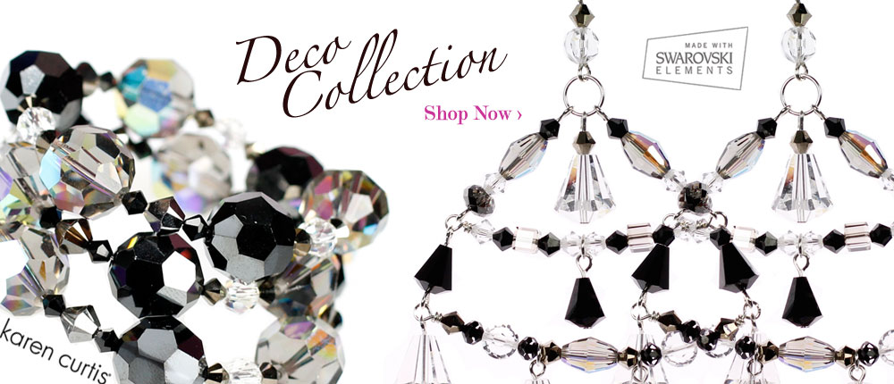 fall inlove with our deco jewelry collection. All made with swarovski crystal