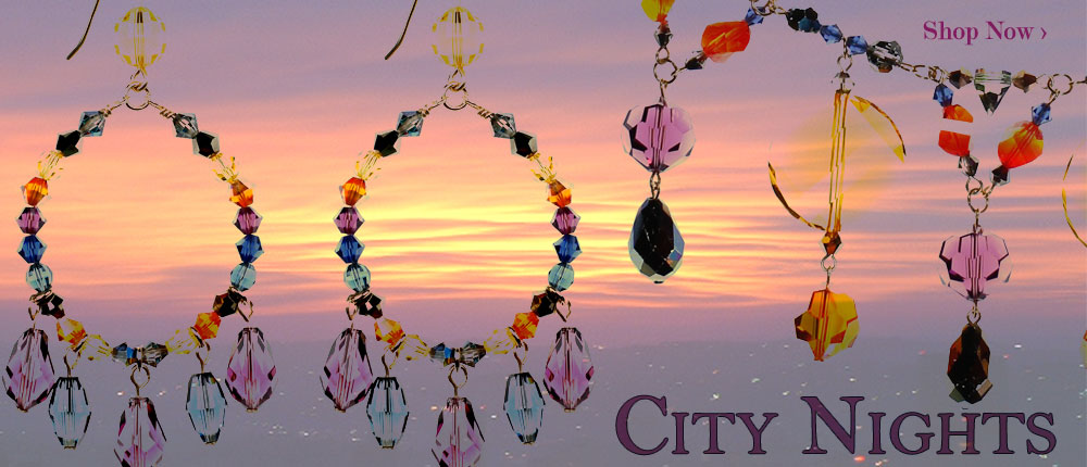 Sparkle in Swarovski with our limited edition jewelry inspired by City Nights. The beautiful purples and deep blues and yellows that accent our skyline create a gorgeous blend of contrast in our newest jewelry collection that is a perfect way to start of fall 2016 - get the fashion trend we are setting - shop crystal jewelry by Karen Curtis