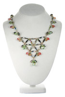 Crystal Statement Necklace with Vintage Swarovski