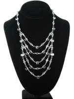CRYSTAL LAYER NECKLACE - BRIDAL
