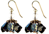 Cluster Earrings offer a shorter earring that is still packed with colorful Swarovski Crystals.