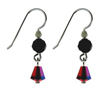 DROP EARRINGS - RED AMORE
