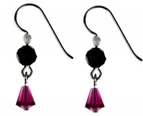 DROP EARRINGS - FUCHSIA AMORE