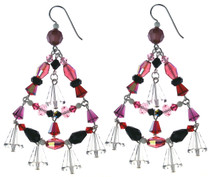 X-LG CHANDELIER EARRINGS - AMORE´