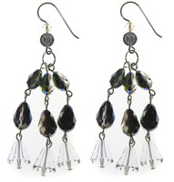 TRIPLE STRAND EARRINGS -COSMIC DREAM