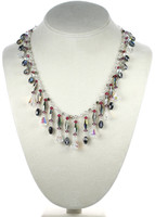 Swarovski crystal necklace Karen Curtis NYC