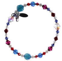 Red White and Blue Stackable American Bracelet 1