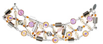 One of a Kind Vintage Crystal Bracelet