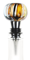 Glass Bottle Stopper. Karen Curtis NYC