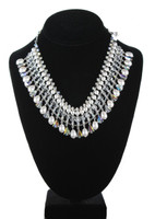 Elegant Crystal Choker Necklace - Bridal Collection