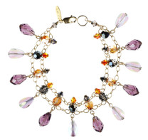 Crystal Bracelet with lots of colors by Designer Karen Curtis