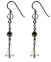 DROP EARRINGS WITH CHAIN