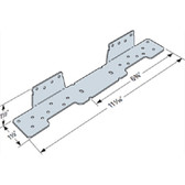 (25 Count) Simpson Strong-Tie LSCZ  Adjustable Stair-Stringer Connector ZMAX