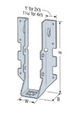 (25 Count) Simpson 316 Stainless Steel LUS28SS Face Mount Joist Hangers For 2x8, 2x10 Joist (Light U-shaped Slotted Hanger)