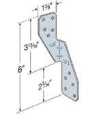 (100 Count) Simpson Strong-Tie H2.5ASS  Hurricane Tie Stainless Steel Rafter/Truss-To-Wall Plates
