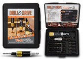 DeckWise Drill & Drive Tool for Pre-drilling, Countersinking & Driving Decking