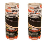 "(2 Count) DeckWise Ledger Tape Self Adhesive Deck & Post Flashing 12""x25FT Roll"