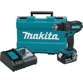 "NEW Makita XPH102 18V LXT Li‑Ion 3.0Ah Cordless 1/2"" Hammer Driver‑Drill Kit"