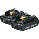 (2 Count) Makita BL1820B 18V LXT 2.0 Ah Lithium Ion Battery  With LED Guage