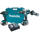 Makita XT257M 18V LXT Lithium-Ion Brushless Cordless 2-Piece Combo Kit