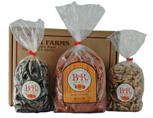 B & R FARMS' HERITAGE- Sun Blend Apricots, Walnut Halves and Prunes