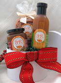 JiMari Special Basket- DICED Dried Apricots, Apricot Topping and Very Vanilla Pancake Mix