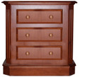 Empire 3-drawer Night Table