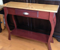Foyer Table - Stock - Cherry with Classic Stain top