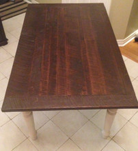 Wormy Maple Harvest Collection Dining Table   SALE