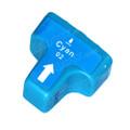 Compatible HP 02 Cyan Ink Cartridge (HP C8771WN)