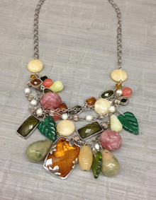 Laila Rowe Charm Statement Necklace