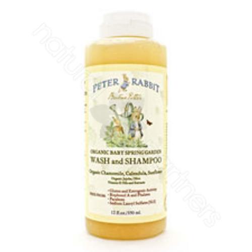 Peter Rabbit Organic Baby Spring Garden Wash and Shampoo Spring Garden Scent