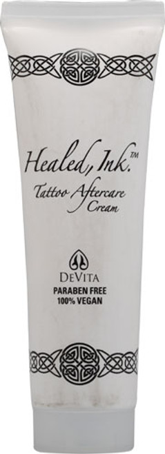 DeVita Skin Care Healed Ink Tattoo Aftercare Cream, 2.5oz