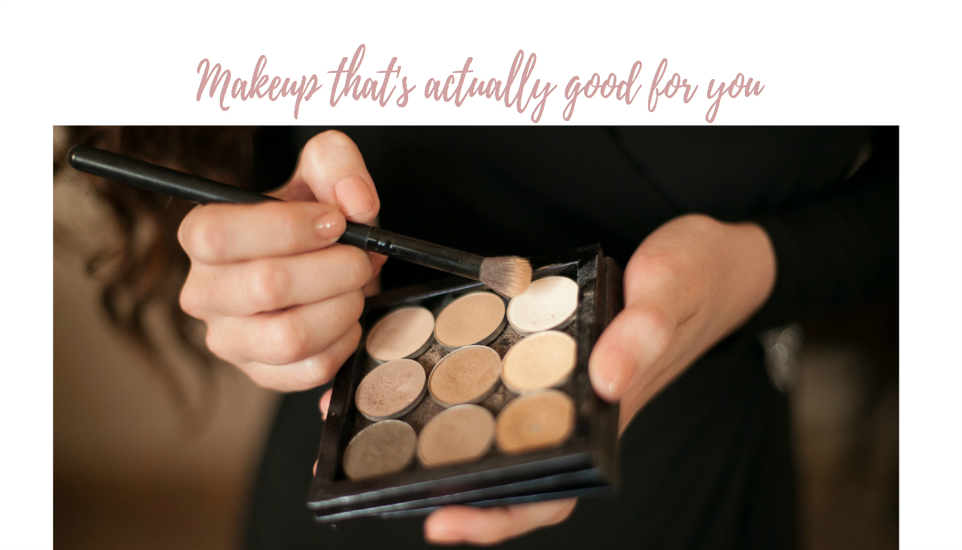 makeup that's actually good for you