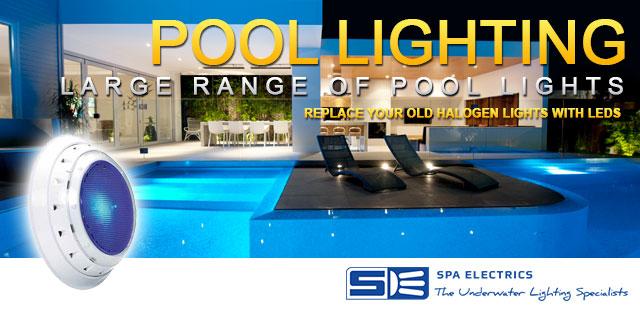 Swimming Pool Lighting Spa Electric