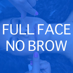 N°23 [Threading] Full Face No Brow