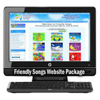 Friendly Songs Turn-Key Website