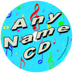 Custom Name Order Form for Friendly Songs CD Kit