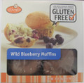 O'Doughs Wild Blueberry Muffins, 4 per pack
