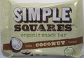 Simple Squares Coconut