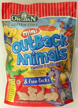 Organ Mini Outback Vanilla Animal Cookies