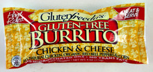 GlutenFreeda Chicken and Cheese Burrito