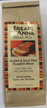 Breads From Anna Gluten Free Pumpkin Bread Mix