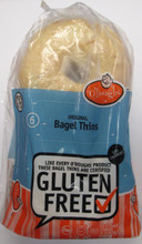 gluten free bagel thins, o'doughs gluten free bagel thins