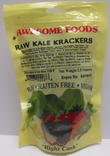 Awesome Foods Kale Krackers, Raw
