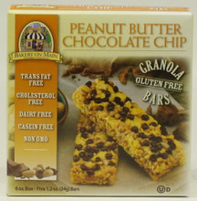 Bakery On Main Peanut Butter Chocolate Chip Granola Bars are gluten free and a great choice for a healthy snack on the run.