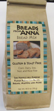 Breads From Anna Bread Mix, Yeast Free Gluten Free All-Purpose Flour Blend