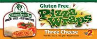 Glutenfreeda Three Cheese Pizza Wraps