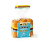 Udi's Gluten Free Classic Hot Dog Buns 6 pack